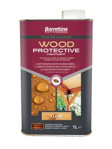 Barrettine wood protector clear 1L